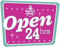 Open 24 Hours Penny's Diner logo.jpg